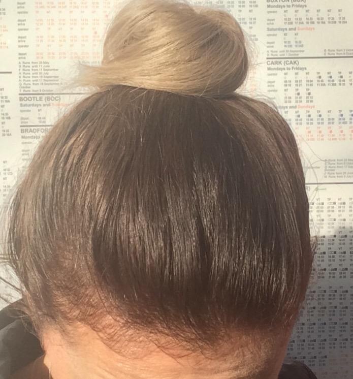 a hair bun