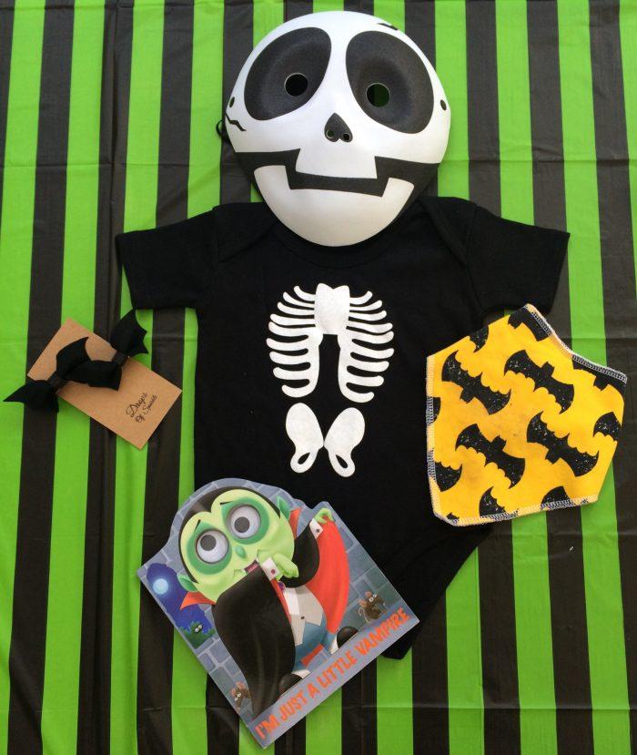 Batty Over Halloween Baby Fashion