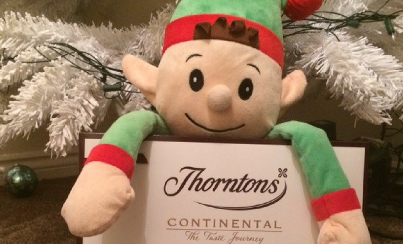Thorntons Chocolates Giveaway Sponsored by Edward the Elf