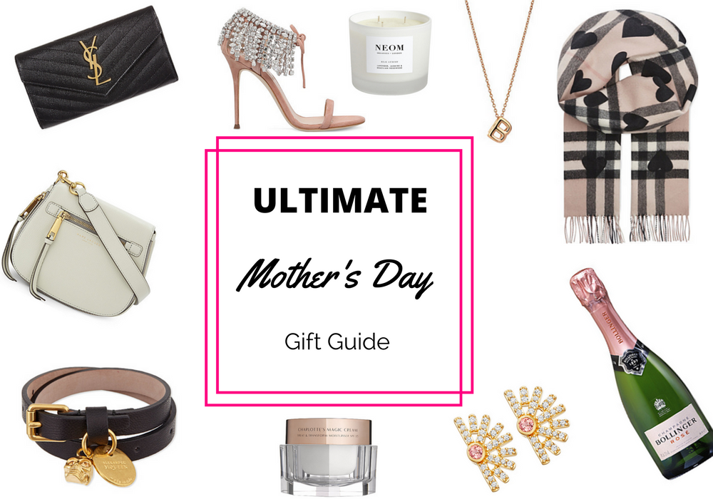 Pictures of lots of Mother's Day presents from Selfridges