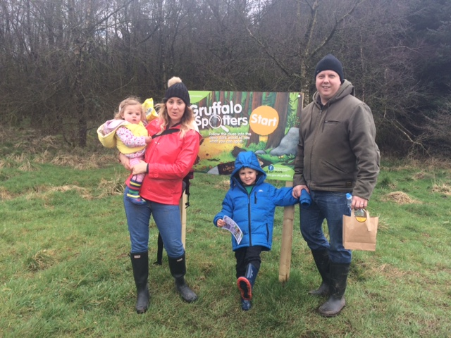 The Gruffalo Trail – Gisburn Forest – Family Day Out