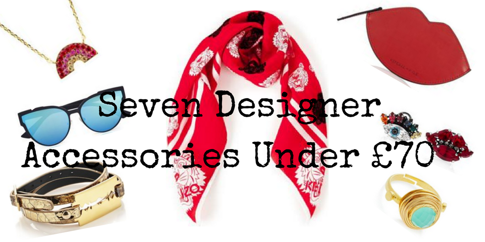 SEVEN DESIGNER ACCESSORIES UNDER £70 FROM VERY EXCLUSIVE