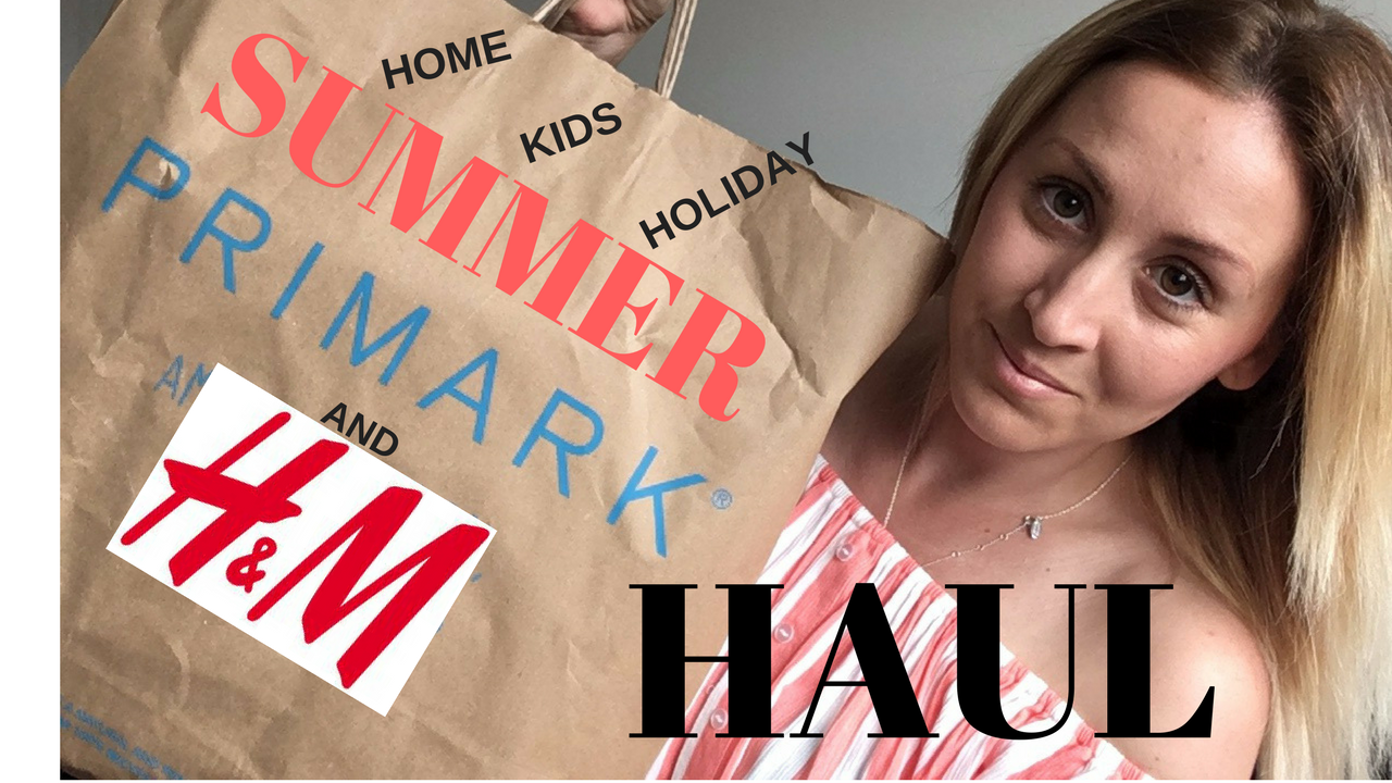 SUMMER PRIMARK + H&M HOLIDAY & HOME HAUL
