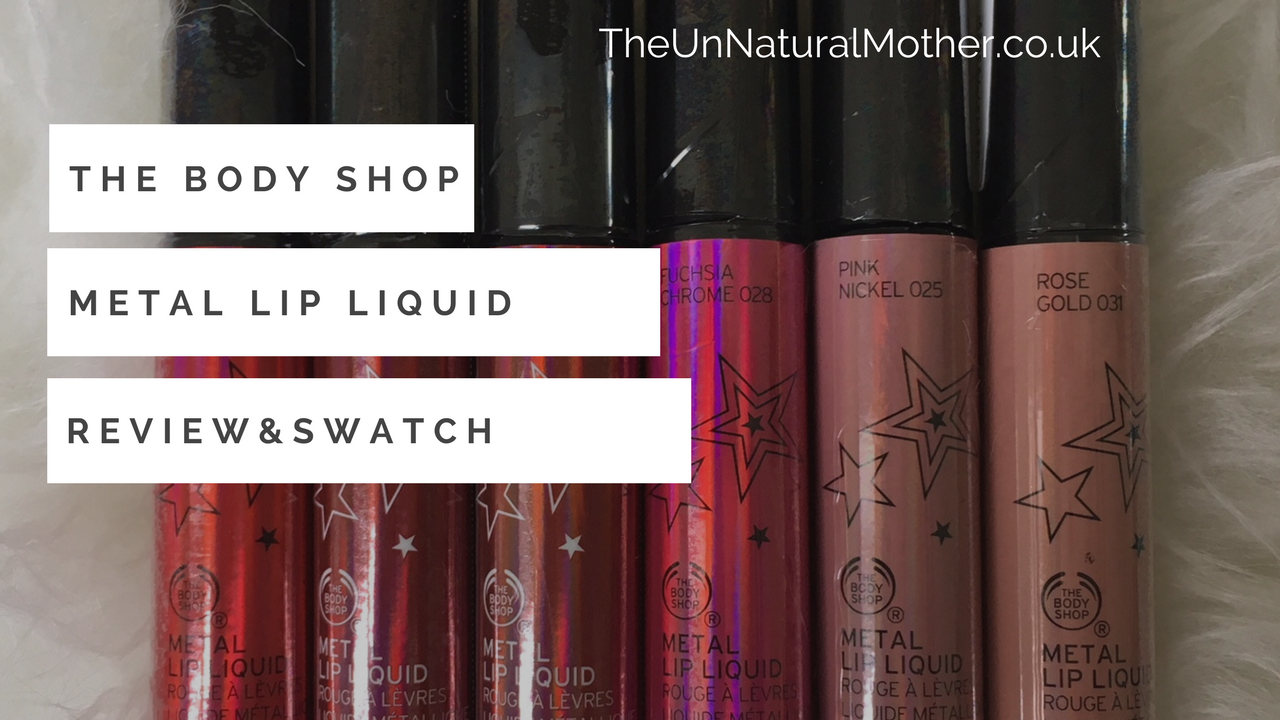 **Exclusive** The Body Shop Metal Lip Liquid Review & Swatch