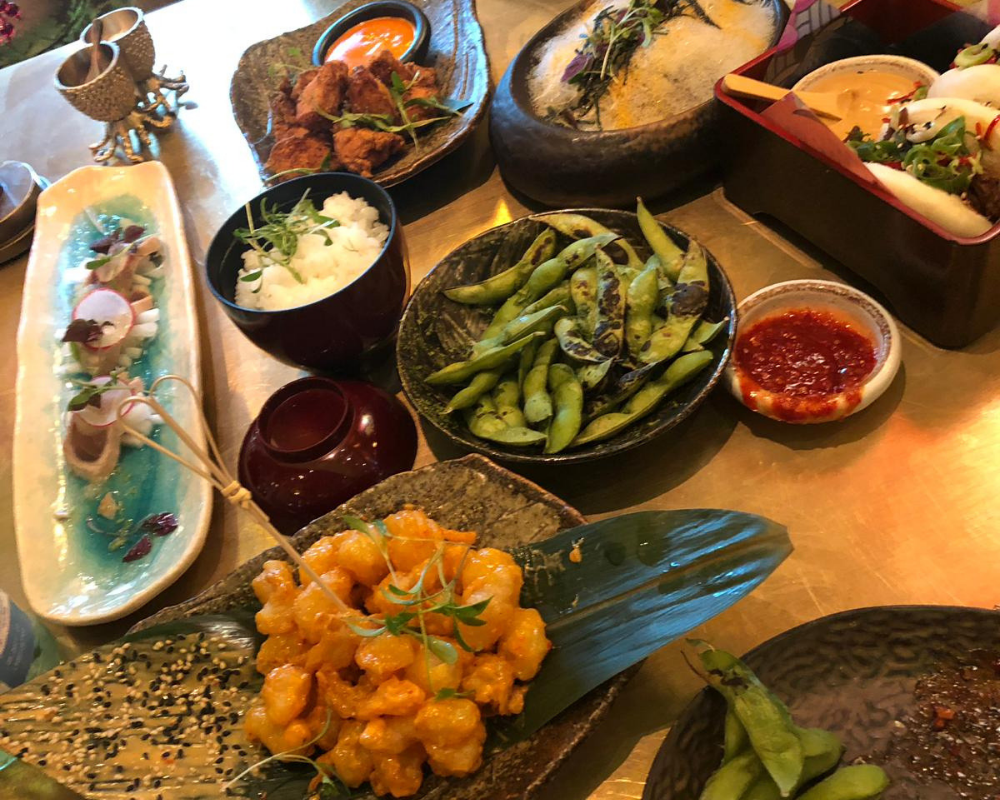 What we ate at Ivy Asia