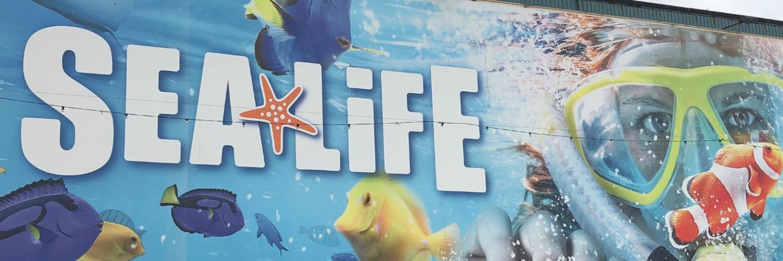 Sea Life Blackpool Sign