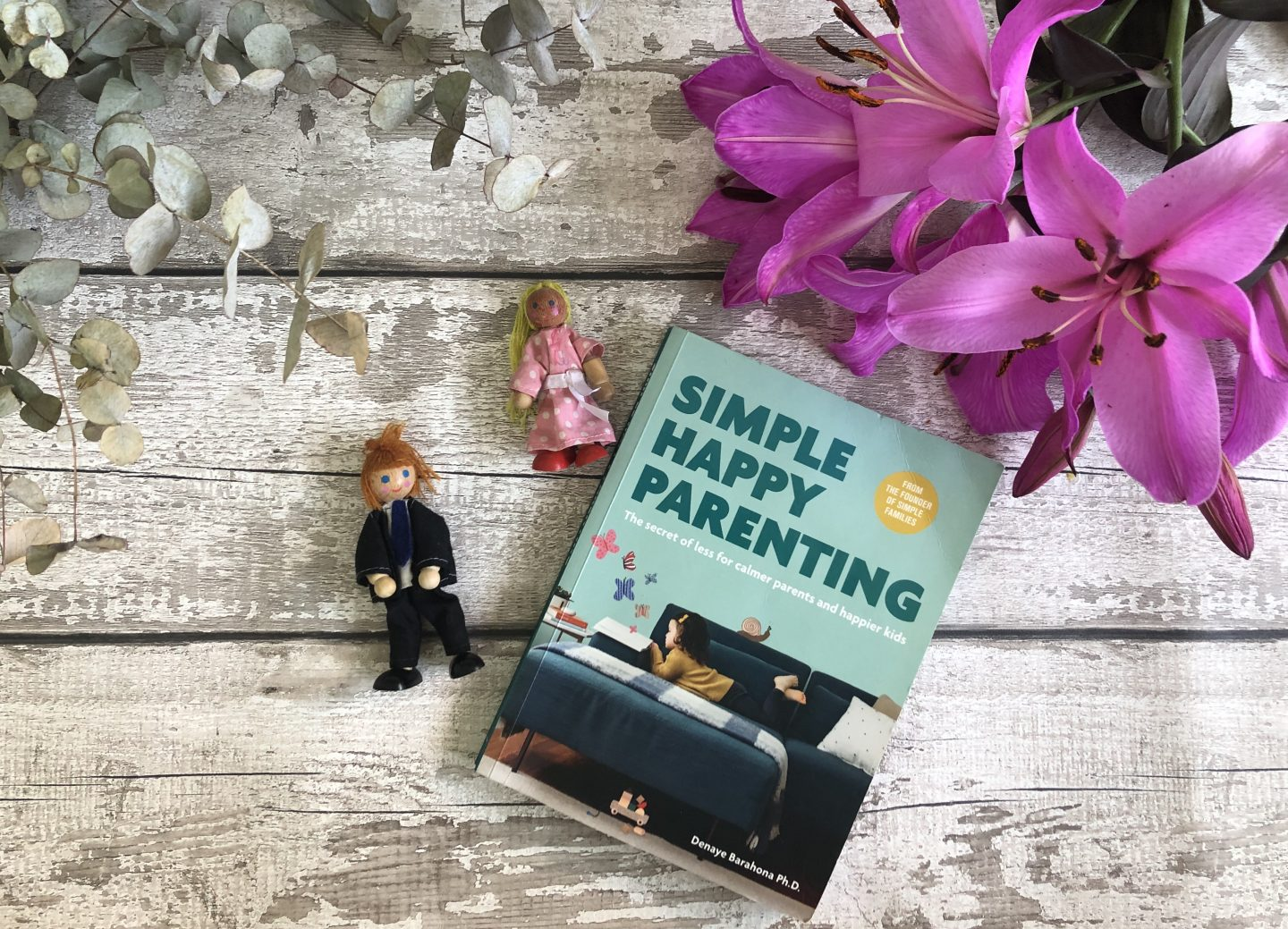 Simple happy parenting book