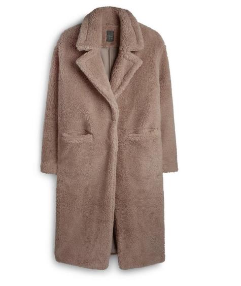 Teddy Coat From Primark