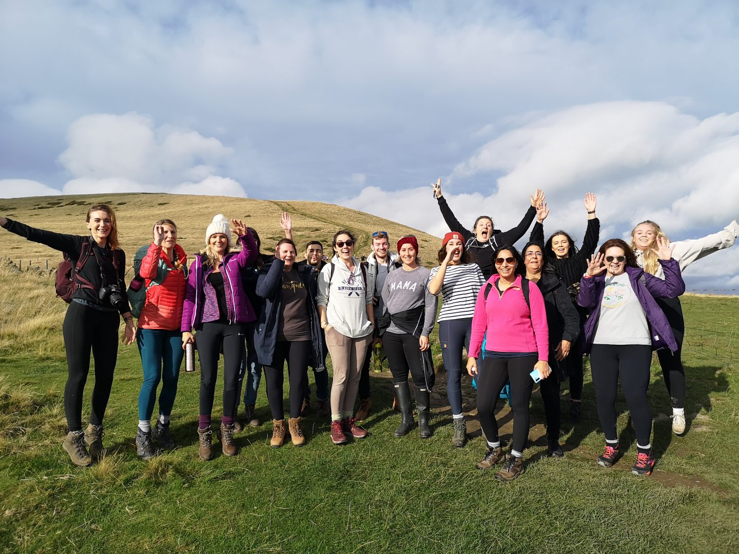 YHA Castleton Blogger group photo