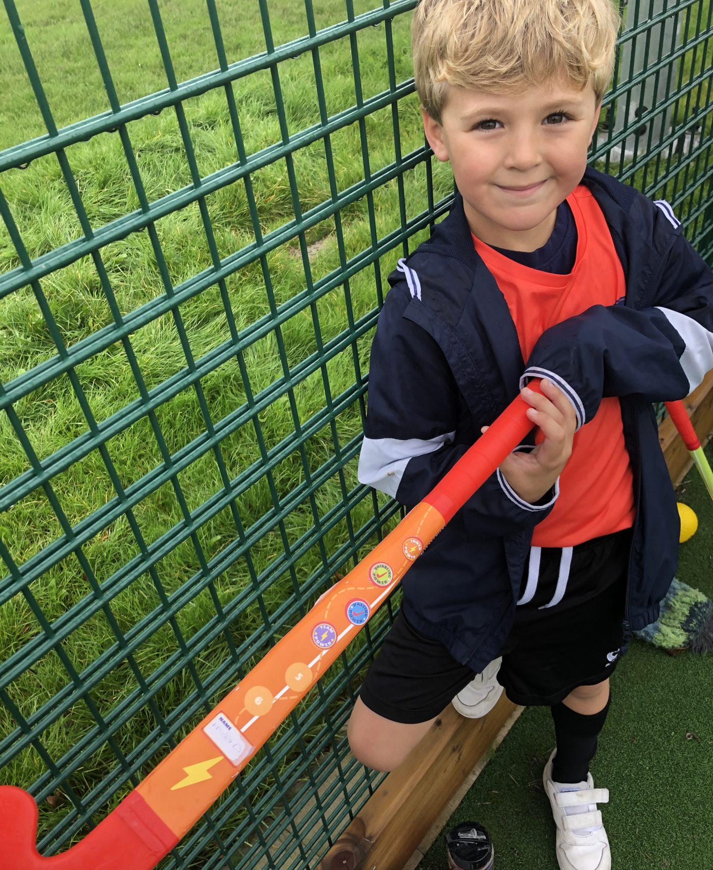 Harry at Hockey Heroes